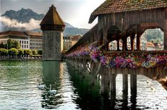Lake Lucern, Switzerland (Been there, but want to go again!)
