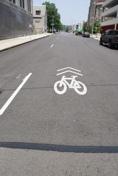 #Bike lanes throughout #Dayton #Ohio