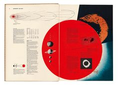 World Geo-Graphic Atlas: A Composite of Man's Environment. Edited and designed by Herbert Bayer. Published in 1953 by the Container Corporation of America.