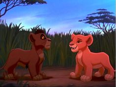 """Baby Scar and Simba from """"The Lion King"""" - We know Scar grows up to be a mean bully, but all baby animals are sweet and so Scar and Simba get our votes here! Lets just pretent the rest of the movie didn't happen."""