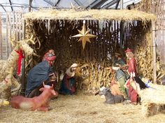 Nativity Scene at Hamilton Farms in Boonton Twp, NJ