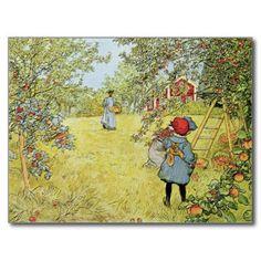 Carl Larsson apples