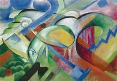 The Sheep by Franz Marc | Art Posters