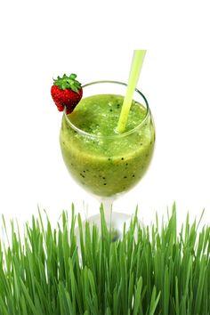 wheatgrass green smoothies