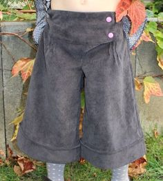 Patron de jupe-culotte Manon de Madame Maman - dispo de 2 à 12 ans