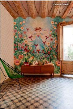 Catalina Design - Tapeten Blumen