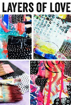 Alisa Burke — SALE! layers of love online class I really want to take this class. It's been ages since I did this sort of thing