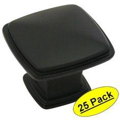 Cosmas 4391FB Flat Black Cabinet Hardware Knob - 1-1/4 Inch Square - 25 Pack Cosmas,http://www.amazon.com/dp/B00B289QL8/ref=cm_sw_r_pi_dp_8ti6sb0Y3KTBN5RZ $54