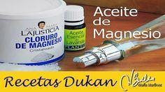 Aceite de Magnesio para adelgazar, cómo se hace / Homemade magnesium oil...