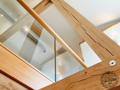Floor to ceiling oak framed home, bespoke design by Roderick James Architects. Wood Frame House, Wooden House, Timber Frame Homes, Timber Frames, Self Build Houses, Bespoke Design, House In The Woods, Home Projects, Contemporary Design