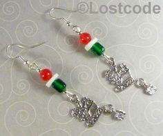 'Christmas Earrings' is going up for auction at 10pm Sat, Dec 8 with a starting bid of $6.