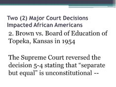 Image result for famous court decisions Separate But Equal, Supreme Court Cases, Education, Image, Educational Illustrations, Learning, Onderwijs, Studying