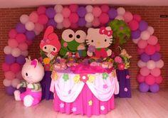 ideas para cumpleaños de niñas hello kitty