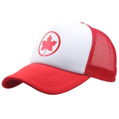 [EB] New Cotton Mesh Gorras Canada Baseball Cap Flag Of Canada Hat Snapback Adjuatable Mens Baseball Caps Brand New For Adult