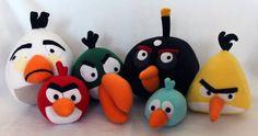 ♥ Las cositas de Ade ♥: Angry Birds de fieltro