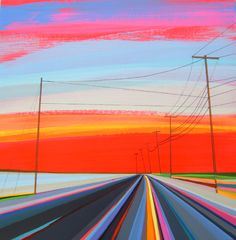 Grant Haffner   PICDIT  I like how is makes the road look like we are moving fast into the distance