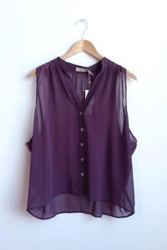 sleeveless boxy blouse, from costa blanca. My Outfit, Taupe, Spring Summer, Culture, Purple, Blouse, Natural, My Style, Green