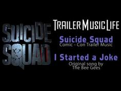 Suicide Squad - Trailer SONG (Bee Gees - I Started a Joke REMIX) HD - YouTube