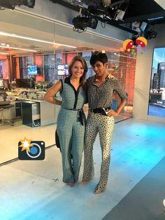 Tamron Hall and Katy Tur