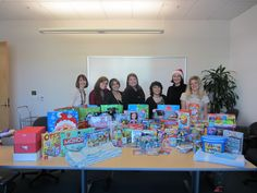 Event team holiday activity, toy drive for Ronald McDonald House 2012