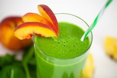 #Smoothie verde con fresas para evitar la ansiedad al comer y comer