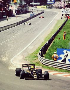 Spa, Senna, JPS, is there anything better?