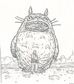 Totoro and Shaolin Cowboy by Geof Darrow