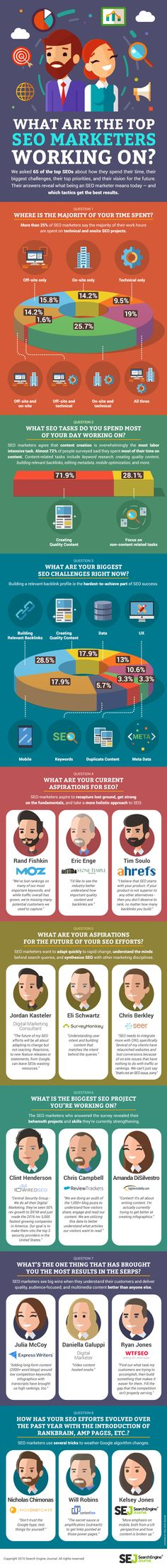 What Gets The Most Results for Top SEOs? [Infographic]