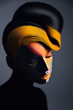 Beauty Photography & Make-up Art by Veronica Azaryan   Inspiration Grid   Design Inspiration