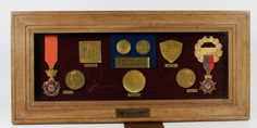 Coronation Medal Coins Dr. Miller Reese Hutchison By Queen Alexandra of Britain