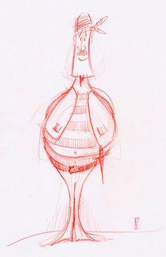 Pirate - character design by Tomasz Janeczko