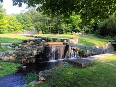 Another view scenic today of a former mode of commerce the Morris Canal at Waterloo Village Byram Township #NJ. The locks look like small waterfalls. #Latergram from last summer. #WaterlooVillage
