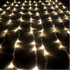 3M X 3M 1000 LED Innen/Außen Wasserfall Kette warmweiß Weihnachtsleuchter Licht