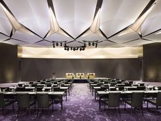 Sofitel Hotels and Resorts: 5 Star Luxury Accommodation Conference Room Design, Sofitel Hotel, Function Room, Ballrooms, Luxury Accommodation, Commercial Interior Design, Home And Deco, Auditorium, Ceiling Design