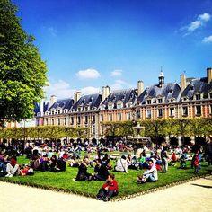 Place des Vosges - Hôtel-de-Ville - París, Isla de Francia