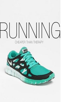 Running: Cheaper Than Therapy Pictures, Photos, and Images for Facebook, Tumblr, Pinterest, and Twitter