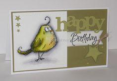 Happy Birthday Stars s / Crazy Birds Tim Holtz