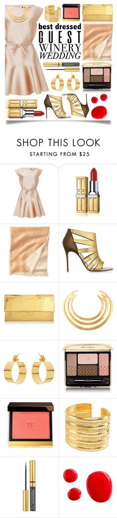 """Best Dressed Guest: Winery"" by ittie-kittie on Polyvore featuring Paule Ka, Elizabeth Arden, TravelSmith, Christian Louboutin, Nancy Gonzalez, Aurélie Bidermann, Lana, Guerlain, Tom Ford and Kenneth Jay Lane"