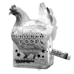 OMG, love it! Chicken Poop Lip Balm-the PERFECT stocking stuffer for the chicken lover in your life! ;)