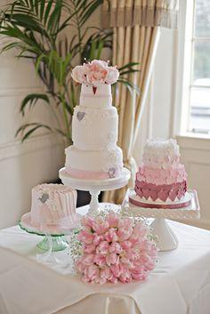 mini cake trio