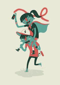 Tony Johnson - Portfolio //Animation //Illustration