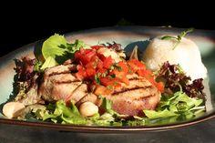 Seared Ahi Tuna with Amazing Asian Salsa Seared Ahi, Tuna, Salsa, Vegetarian Recipes, Pork, Asian, Foods, Meat, Amazing