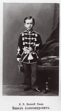 """imperial-russia:  """"Puss in Boots"""" - little Grand Duke Pavel Alexandrovich of Russia"""