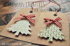 20 propostes creatives per felicitar el Nadal