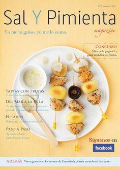 Verano 2012 Sal Y Pimienta Magazine  En nuestro número de verano podéis encontrar recetas de tartas con frutas, helados, pescados marineros y de productos de temporada.
