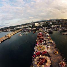 Fun Fair Dun Laoghaire Pier