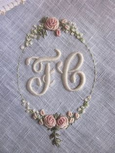 Elizabeth Hand Embroidery: Rouyer 254 and the variant of knots