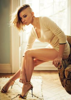 Natalie Dormer. Even with a half-shaven head, she slays.