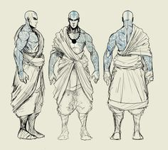 adult avatar aang turnaround by Sketchydeez