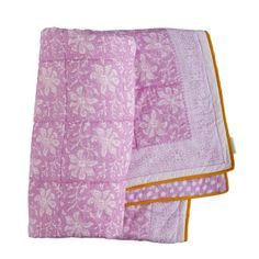 "Bungalow - CUSHIONS & QUILTS - SOLD OUT quilt in print ""Lakshmi Rose"""